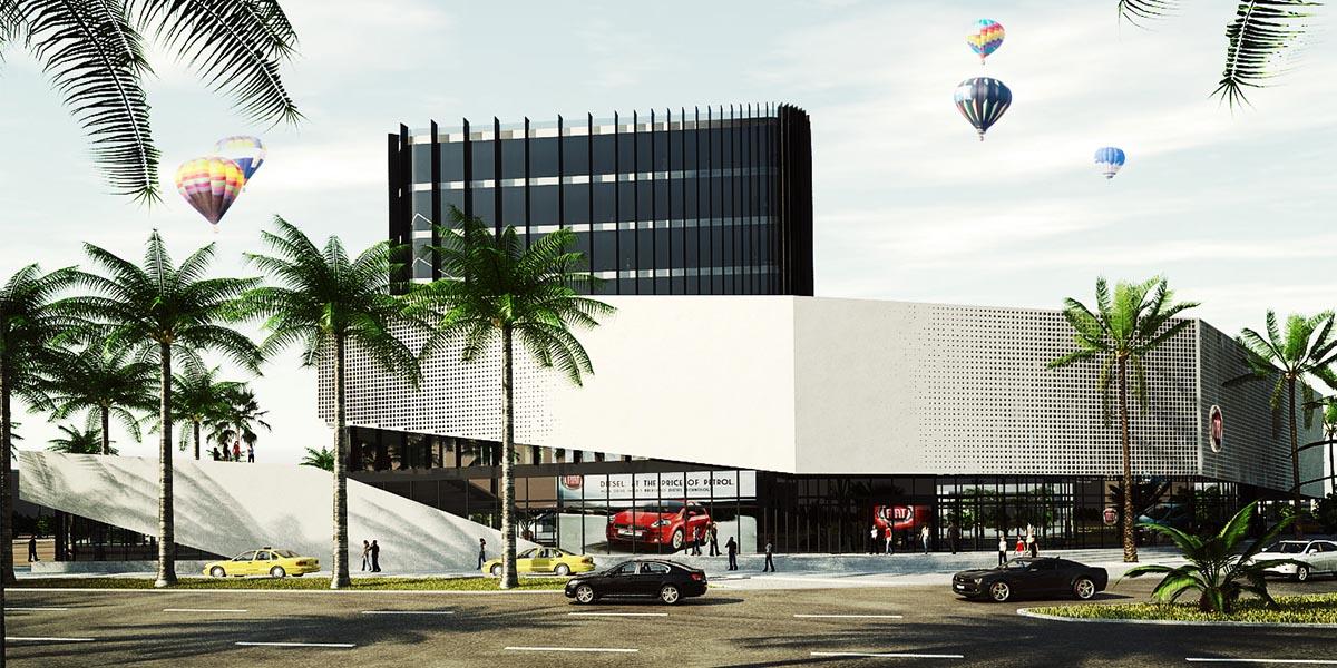 ساختمان تجاری اداری فیات