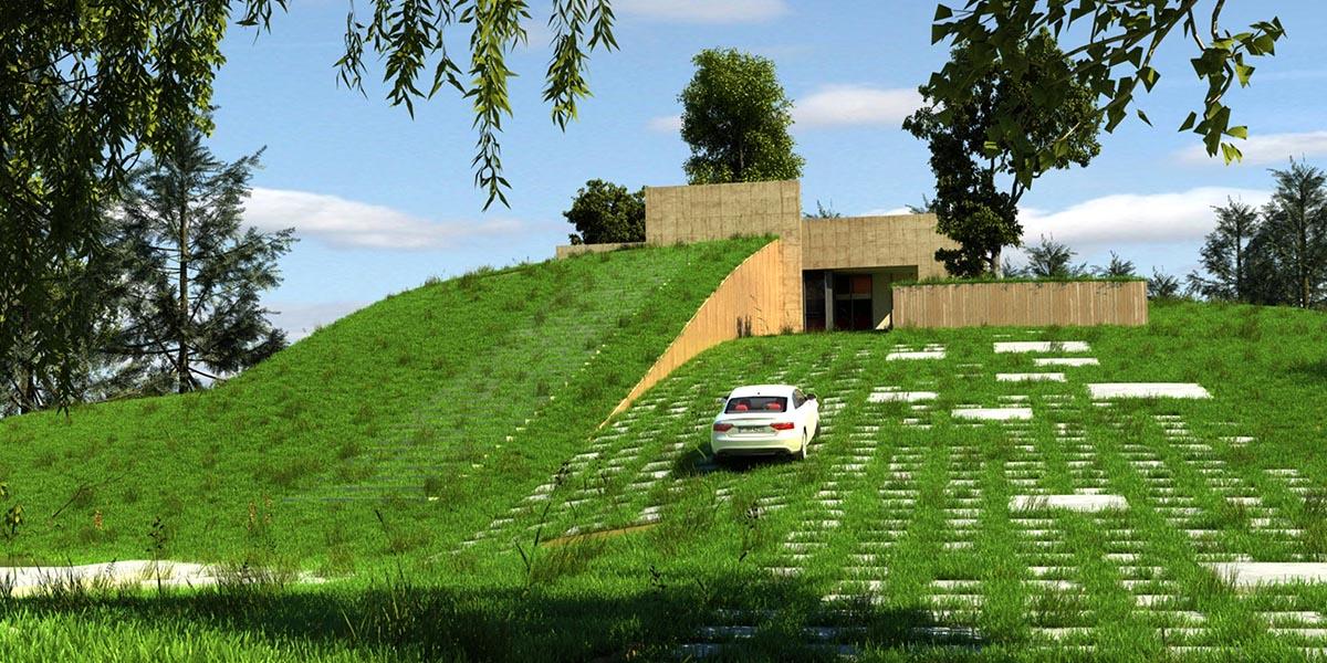 طراحی و معماری ویلا کیاشهر