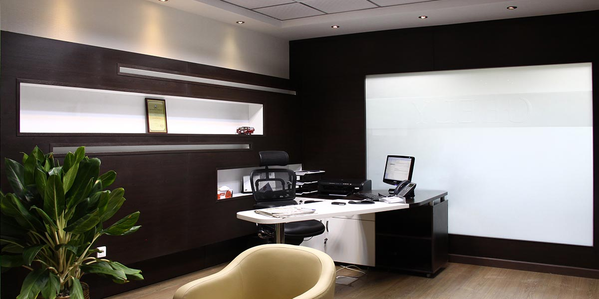طراحی دفتر مرکزی جیلیران