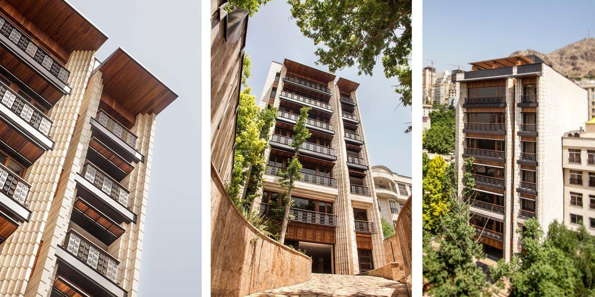 طراحی مجتمع مسکونی یاسر
